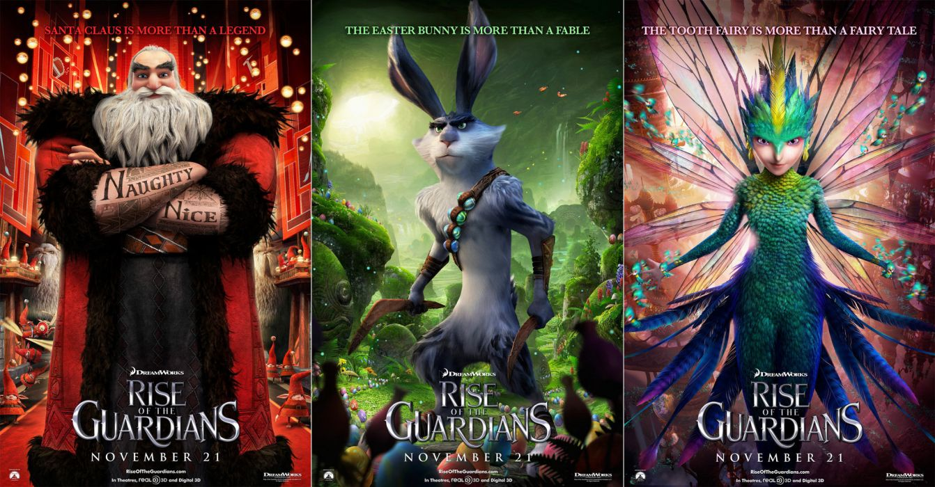 RISE OF THE GUARDIANS animation adventure family (16) wallpaper