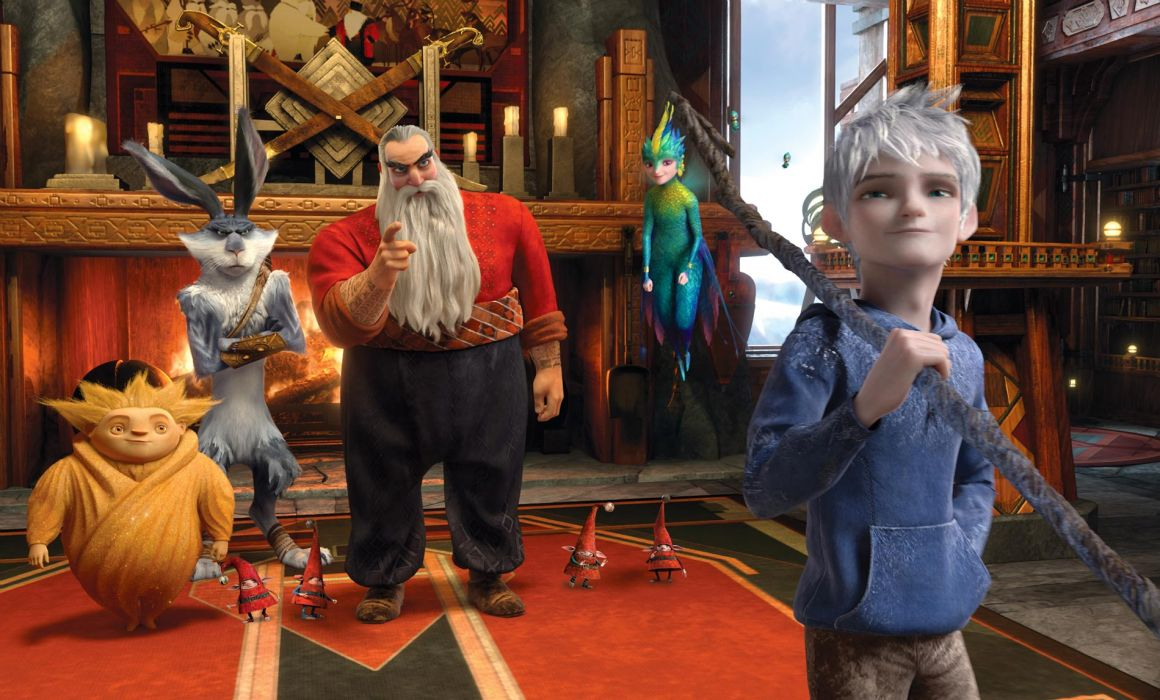 RISE OF THE GUARDIANS animation adventure family (17) wallpaper