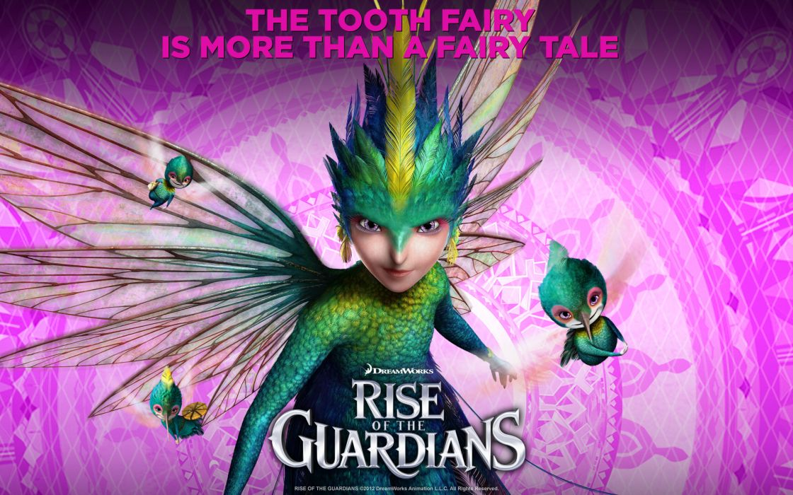 RISE OF THE GUARDIANS animation adventure family (19) wallpaper