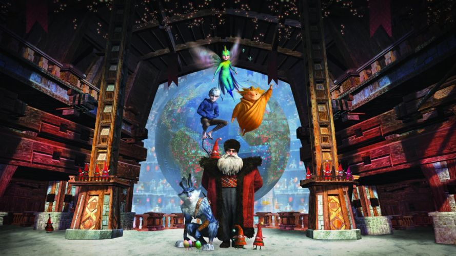 RISE OF THE GUARDIANS animation adventure family (22) wallpaper
