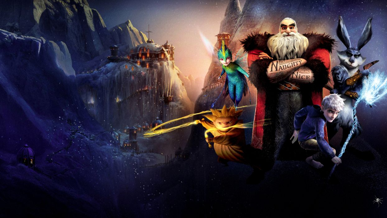 RISE OF THE GUARDIANS animation adventure family (29) wallpaper