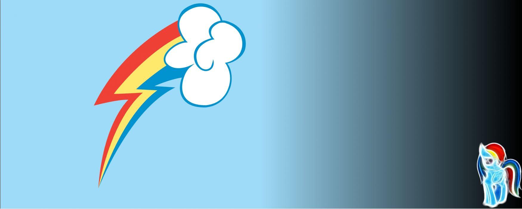 Rainbows My Little Pony Lightning Rainbow Dash Cutie Mark
