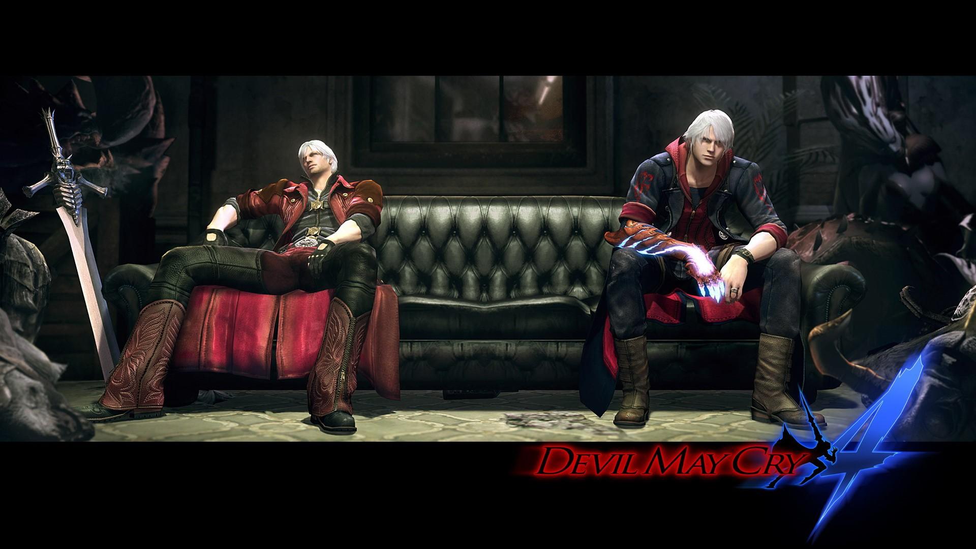 Devil May Cry Dante Nero Swords Wallpaper 1920x1080 231515