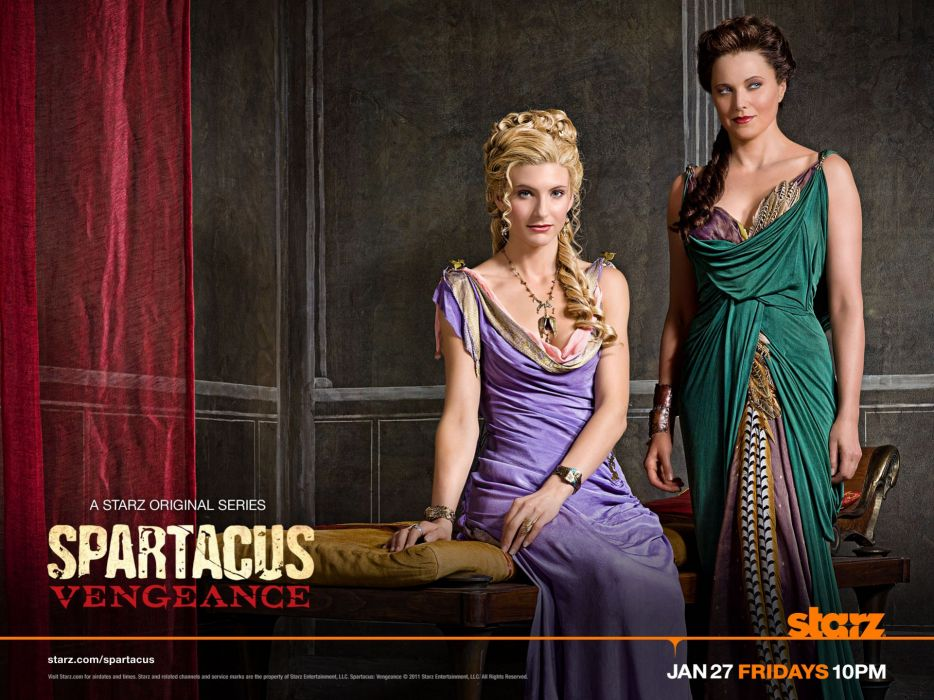 Lucy Lawless Viva Bianca Spartacus Vengeance wallpaper
