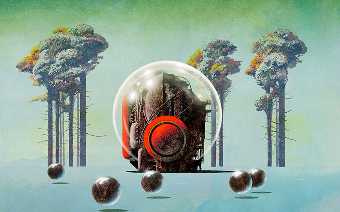 Classic science fiction Dan McPharlin wallpaper
