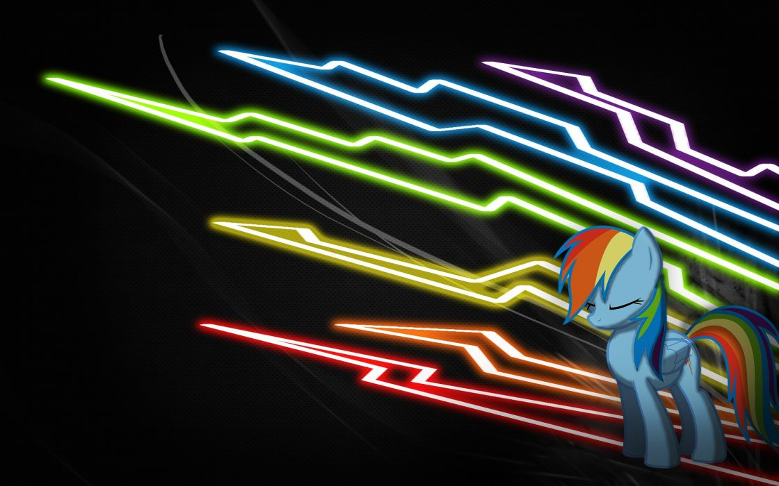 ponies Rainbow Dash My Little Pony: Friendship is Magic wallpaper