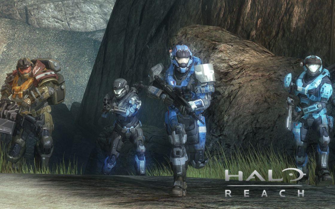 video games team Halo video armor Halo Reach game wallpaper