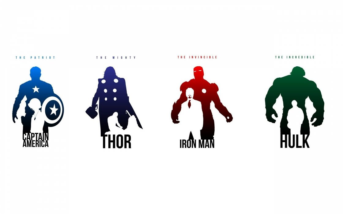 Iron Man Thor Captain America Marvel Comics Avengers Hulk wallpaper