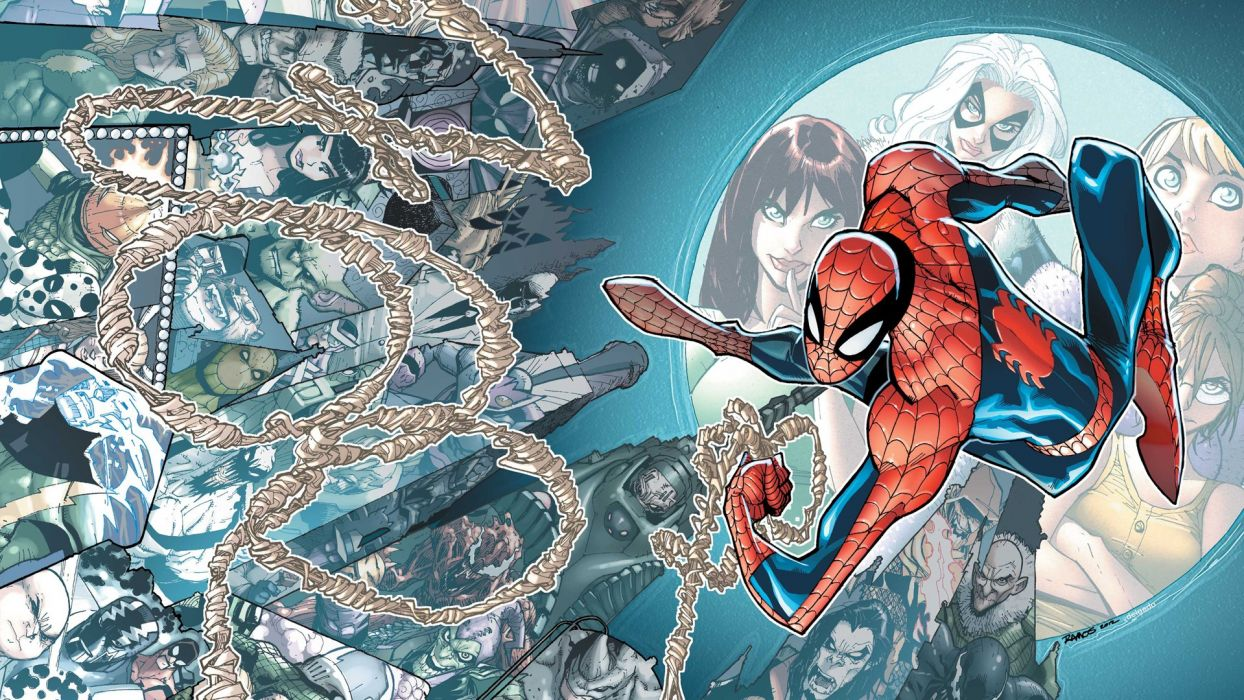 comics Spider-Man Marvel Comics wallpaper