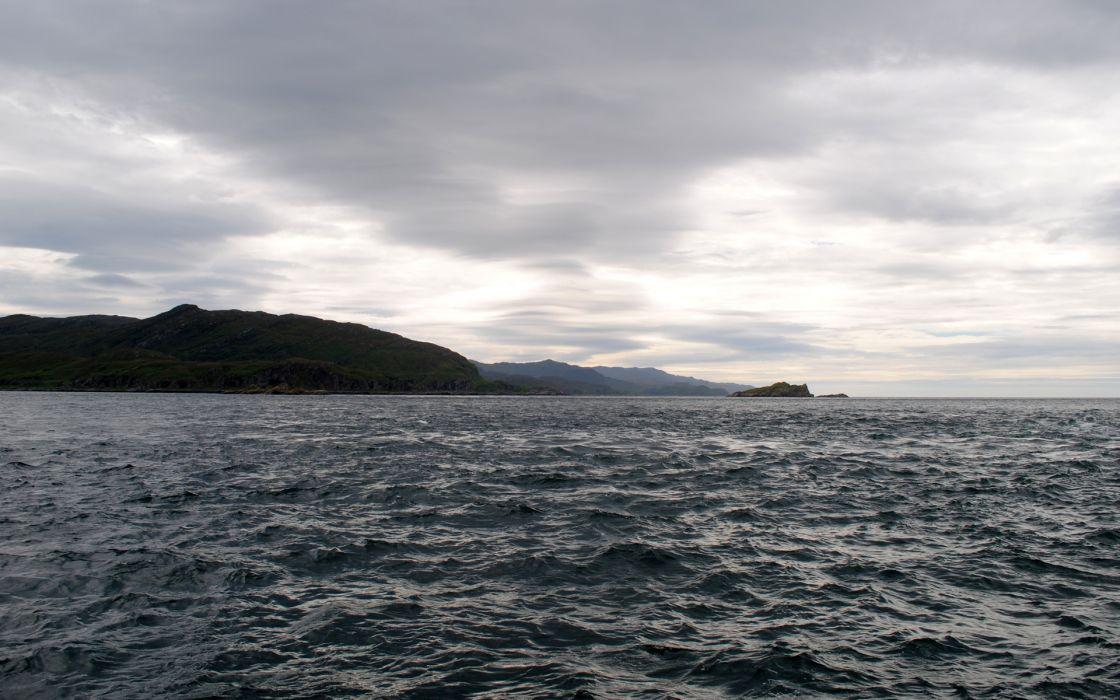 skyscapes sea wallpaper