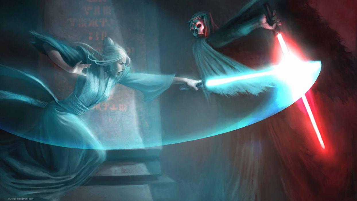 Star Wars lightsabers Kotor wallpaper