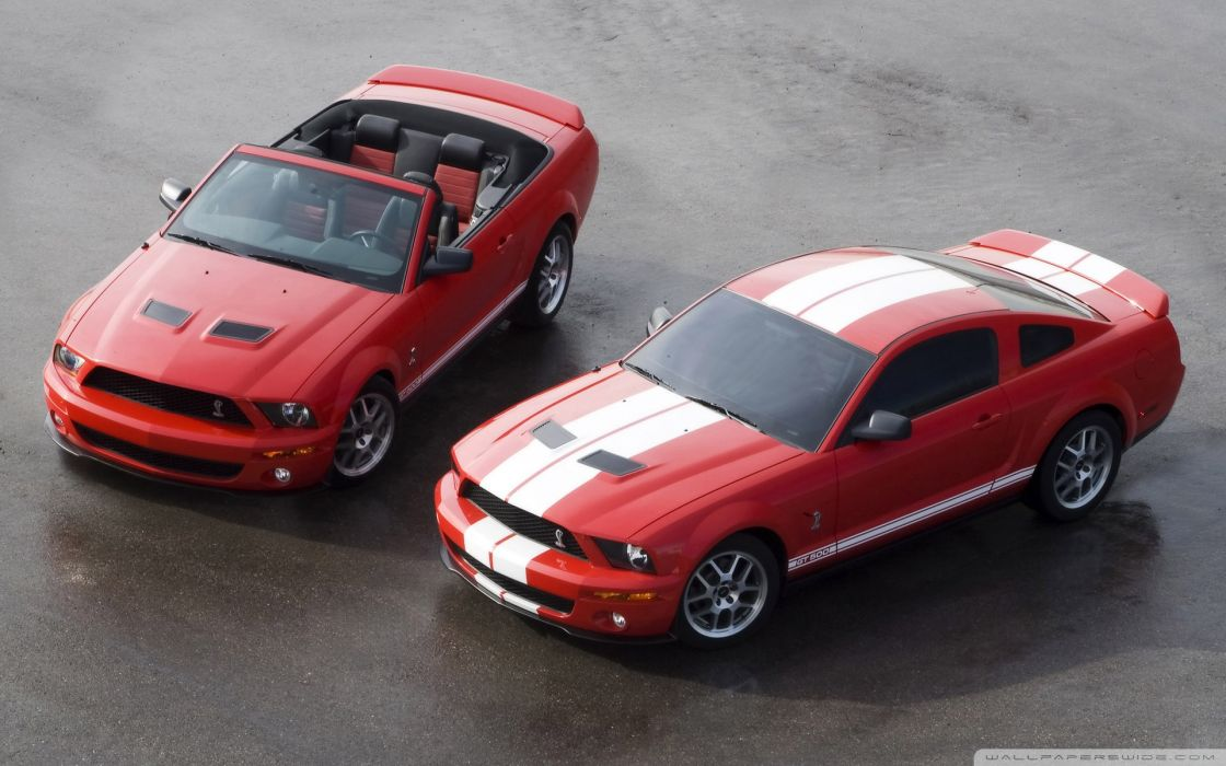 2007 ford shelby gt500 production red coupe convertible-wallpaper-1920x1200 wallpaper