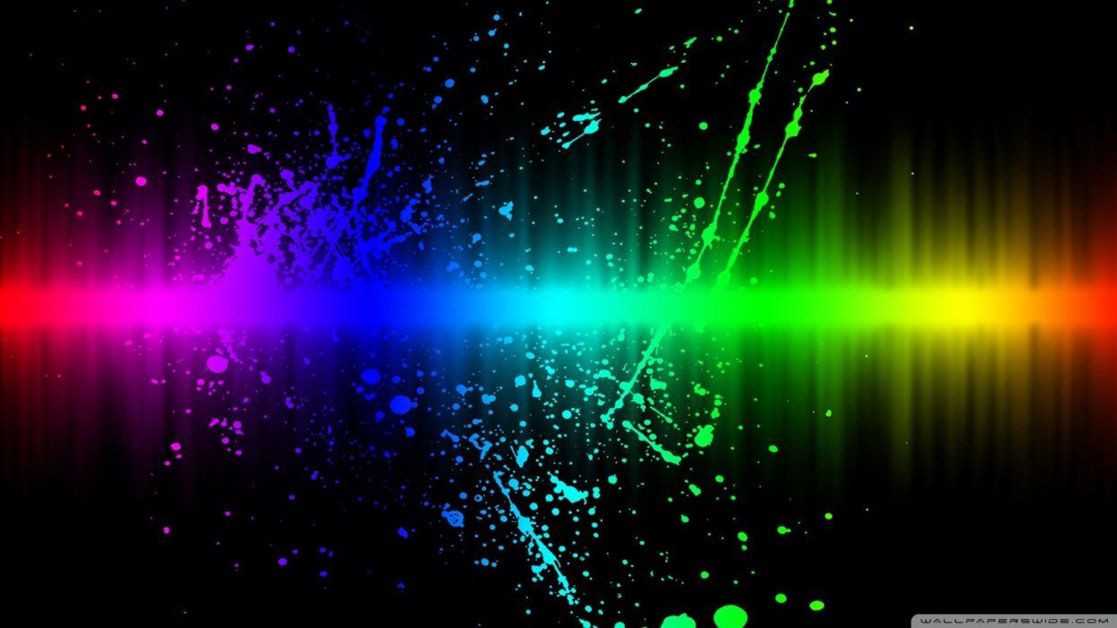 rainbow color splatter-wallpaper-1920x1080 wallpaper