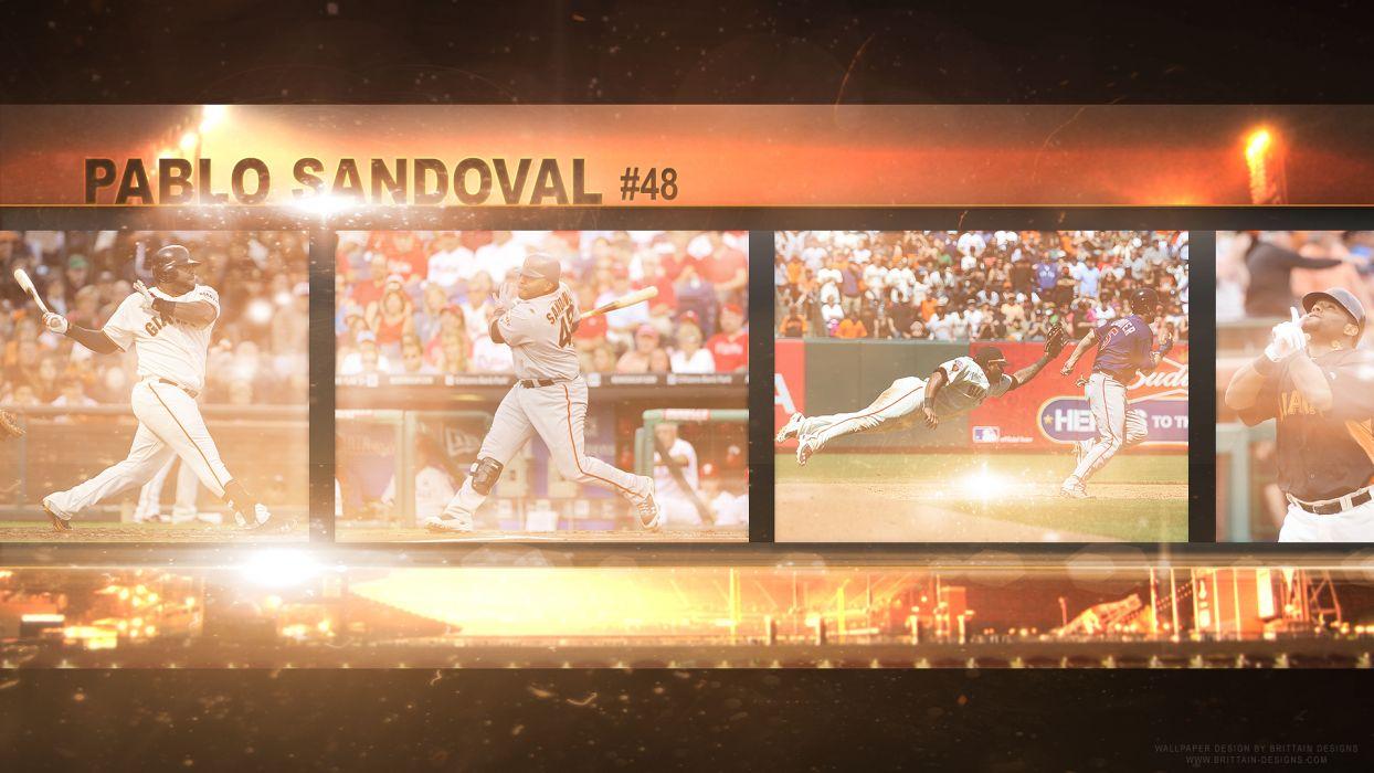 SAN FRANCISCO GIANTS mlb baseball (1) wallpaper
