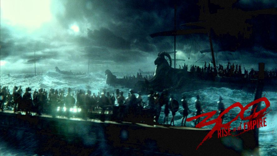 300 RISE OF AN EMPIRE action drama war fantasy poster d wallpaper