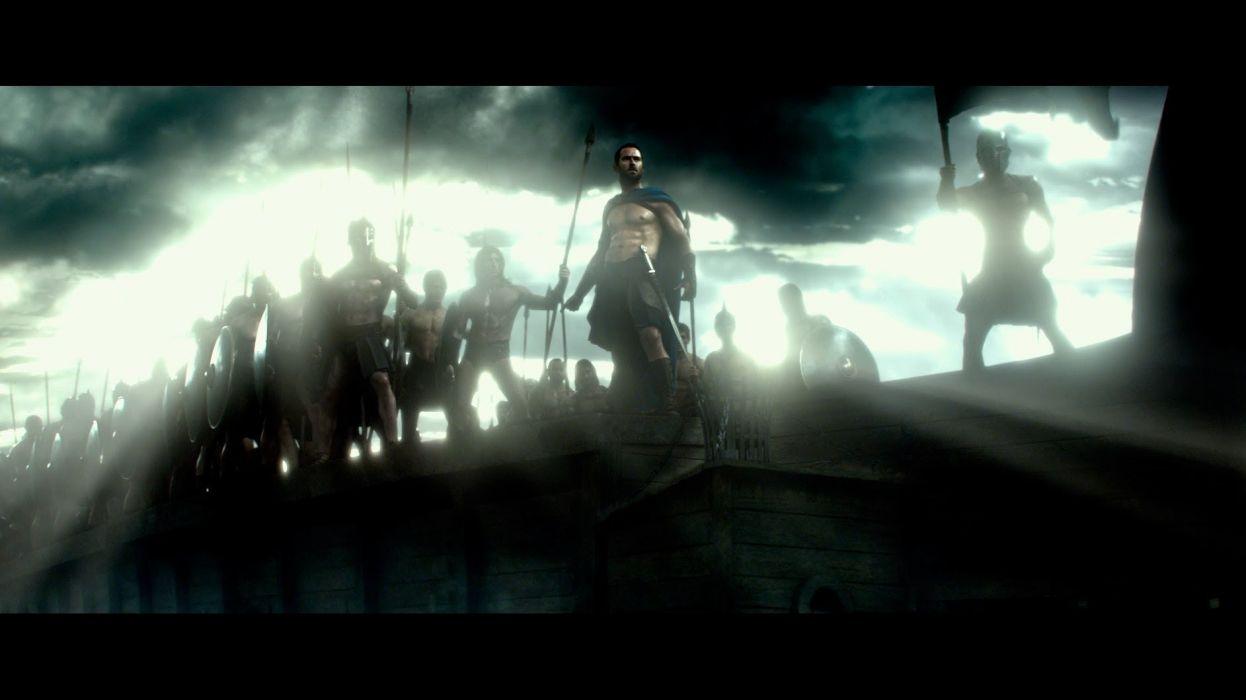 300 RISE OF AN EMPIRE action drama war fantasy warrior    d wallpaper