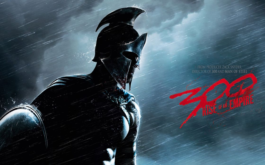 300 RISE OF AN EMPIRE action drama war fantasy warrior armor poster   f wallpaper