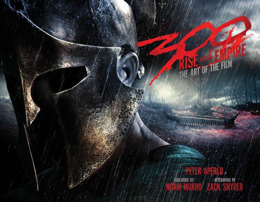 300 RISE OF AN EMPIRE action drama war fantasy warrior armor poster  f wallpaper
