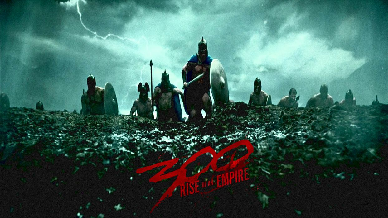 300 RISE OF AN EMPIRE action drama war fantasy warrior poster    d wallpaper
