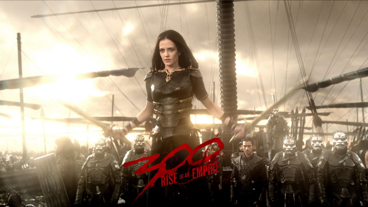 300 RISE OF AN EMPIRE action drama war fantasy warrior poster  h wallpaper