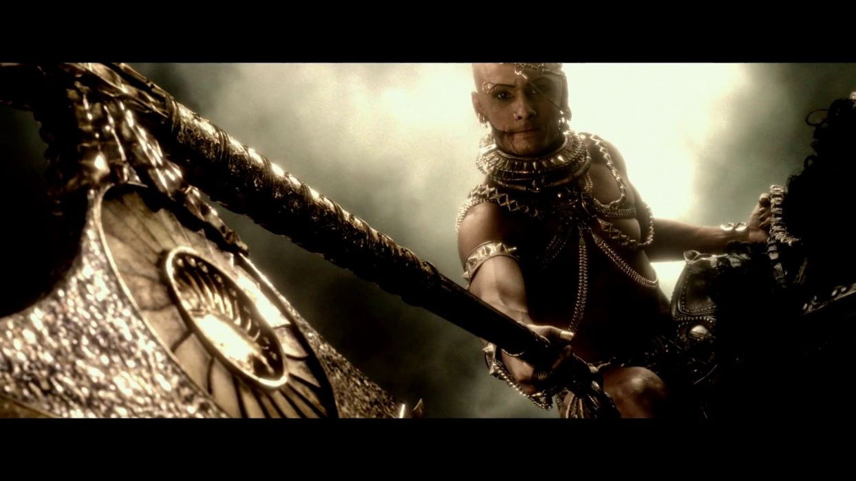 300 RISE OF AN EMPIRE action drama war fantasy warrior weapon   v wallpaper