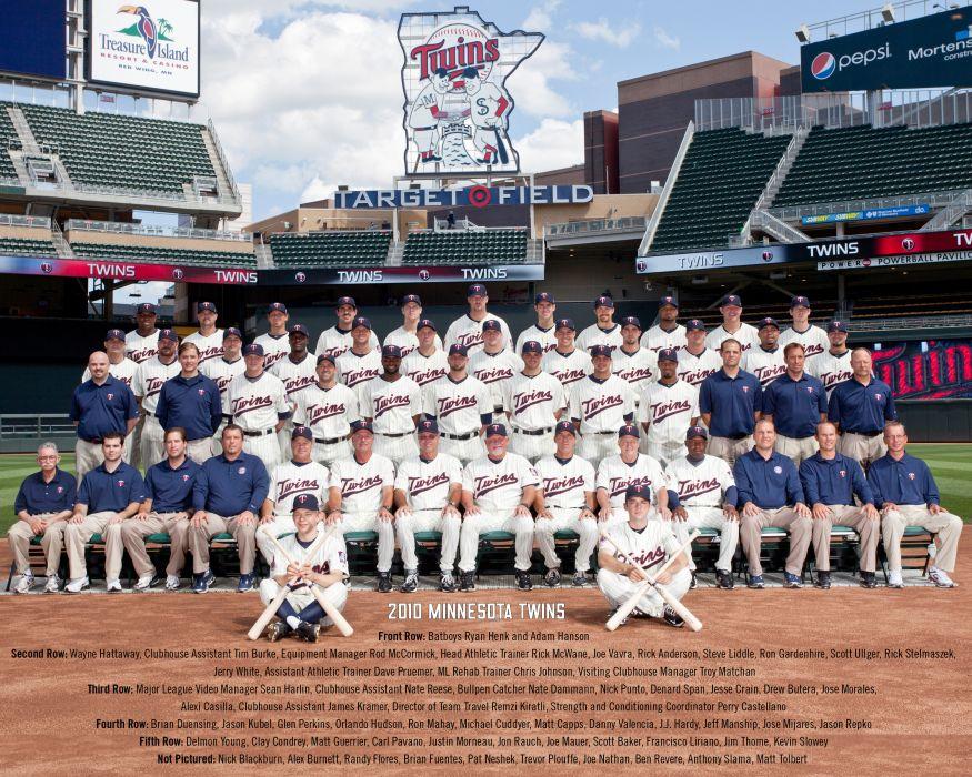 MINNESOTA TWINS mlb baseball (41) wallpaper