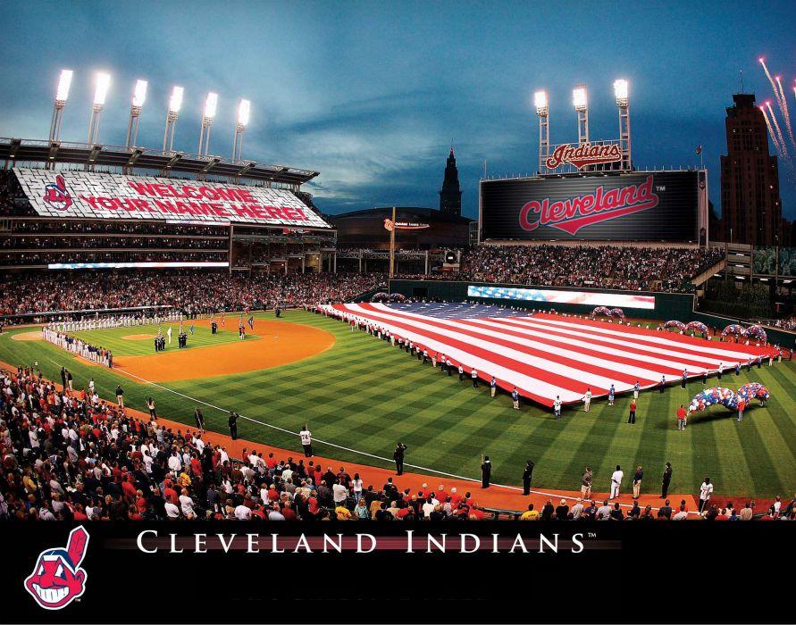 CLEVELAND INDIANS mlb baseball (24) wallpaper