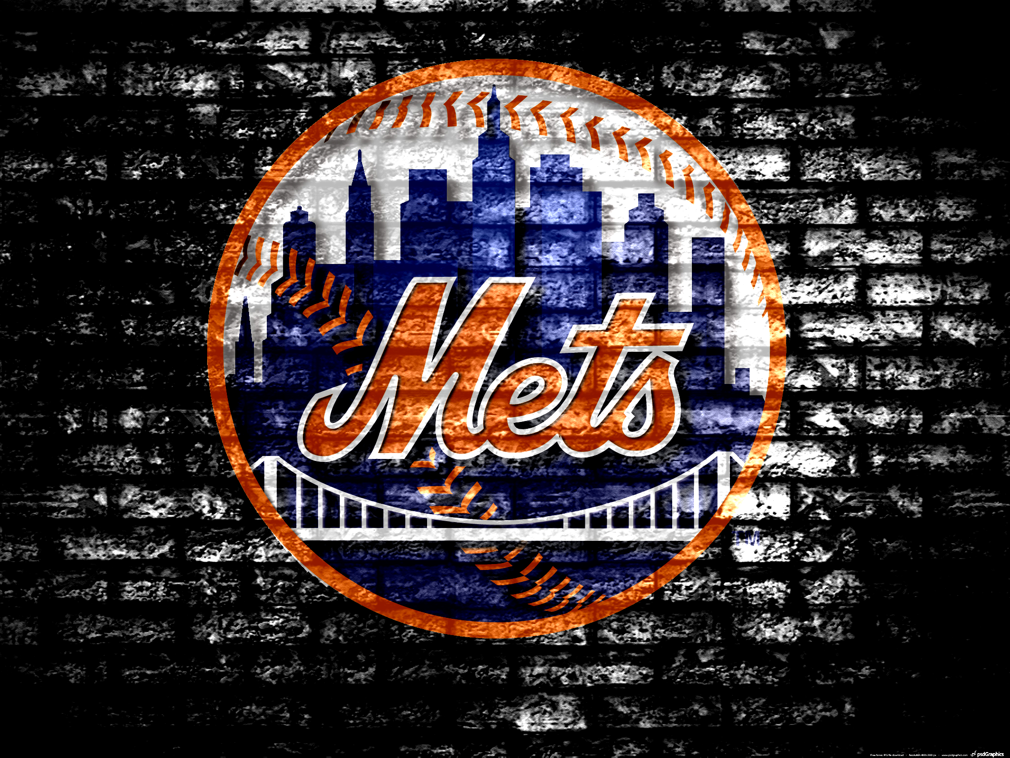 new york mets glass single baseball case with team logo