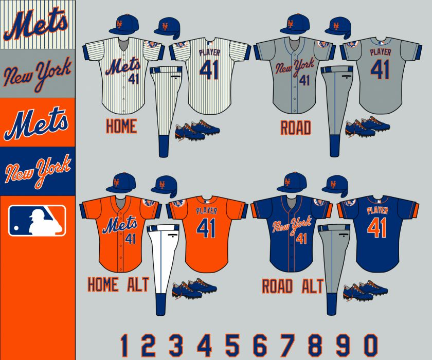 New York Mets Embroidering iPhone Wallpaper