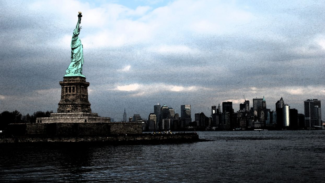 Cityscapes New York City Statue Of Liberty Statues Symbols
