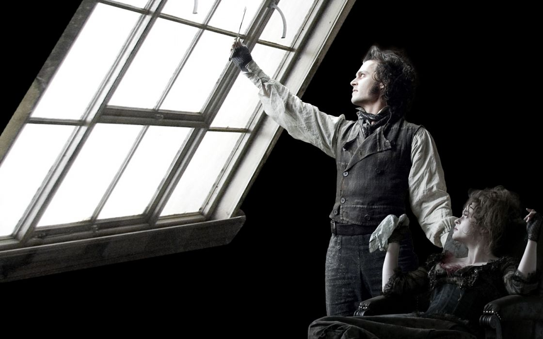 actress Sweeney Todd Helena Bonham Carter Johnny Depp wallpaper