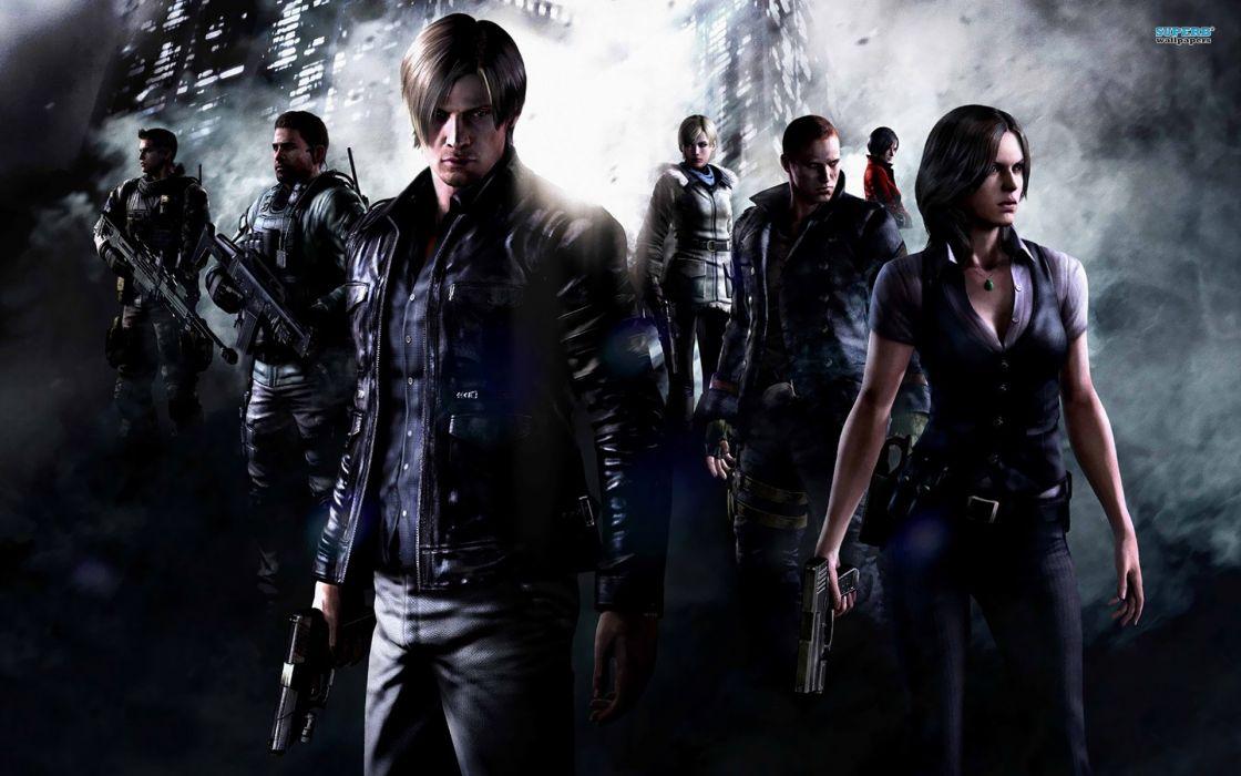 video games Resident Evil posters Resident Evil 6 screens wallpaper