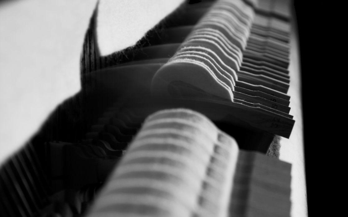 piano grayscale monochrome wallpaper