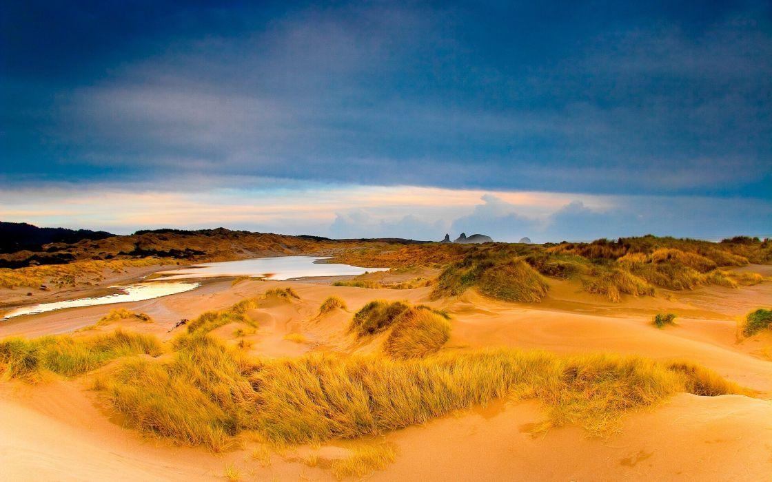landscapes sand dunes wallpaper