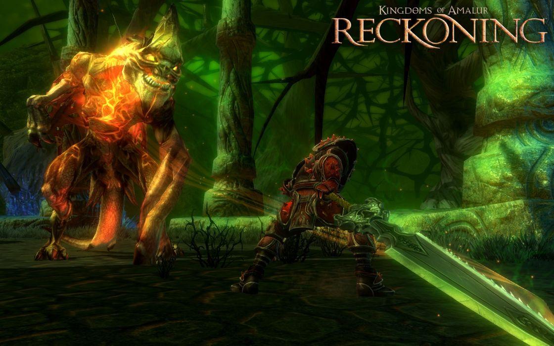 fantasy video games RPG screenshots gaming action adventure Reckoning Kingdoms of Amalur wallpaper