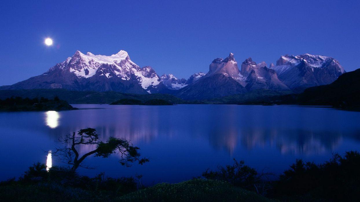 Chile National Park Paine wallpaper
