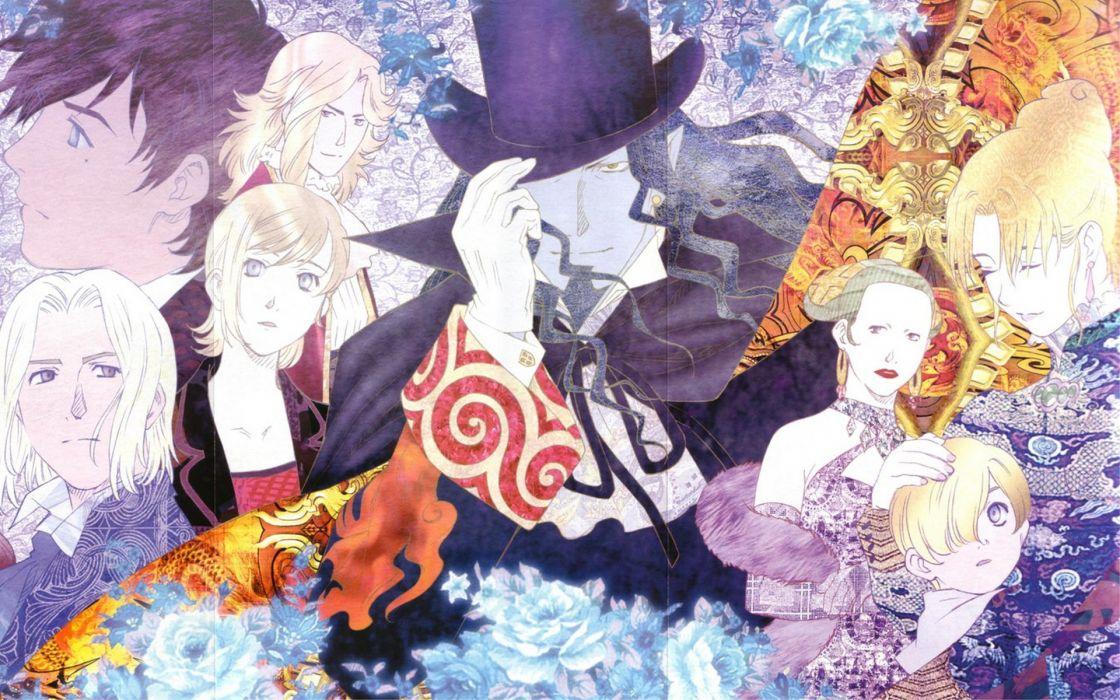 Gankutsuou Conte Monte Cristo wallpaper