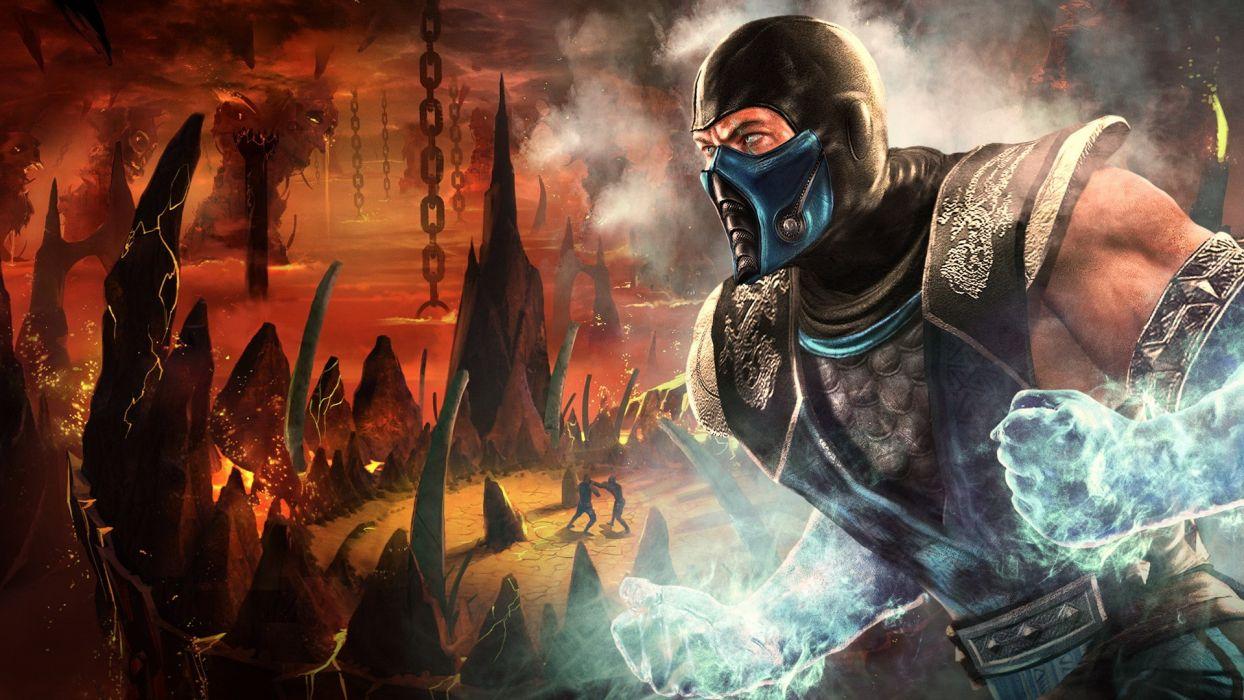 Mortal Kombat Sub Zero Wallpaper 1920x1080 232643 Wallpaperup