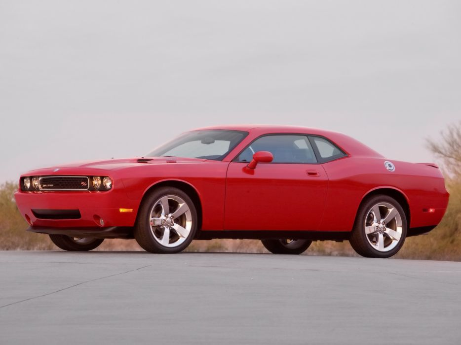 cars front Dodge Challenger Dodge Challenger RT wallpaper