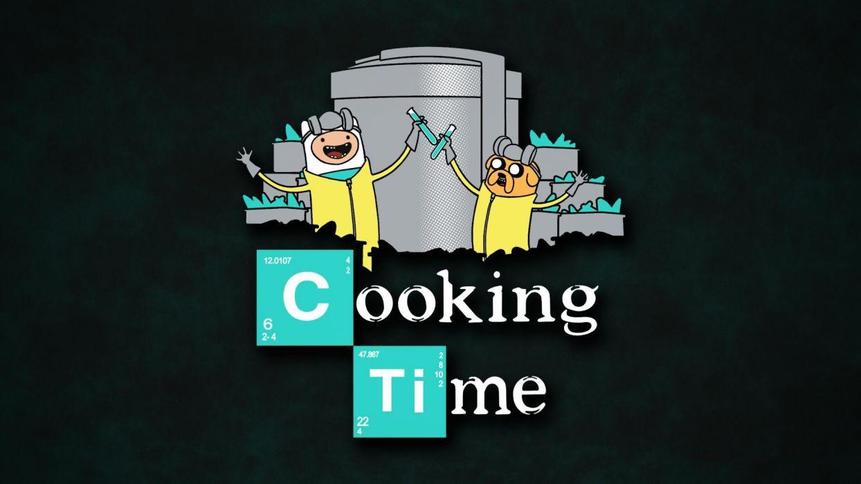 science Breaking Bad Adventure Time Heisenberg wallpaper