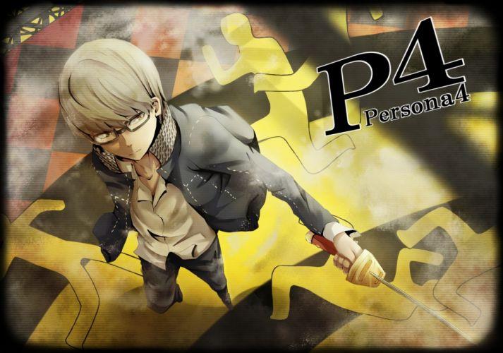 video games Persona series Persona 4 Narukami Yuu wallpaper