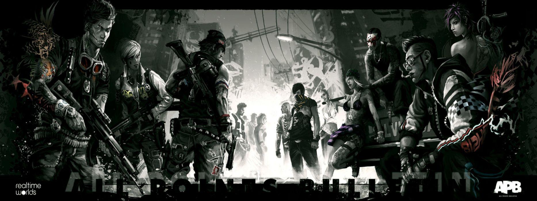 video games APB artwork wallpaper