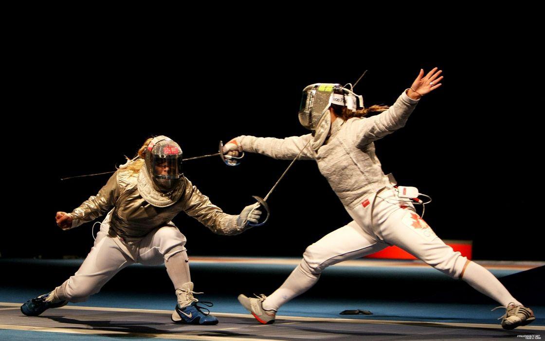 fences sports Dodge Rapier fencing wallpaper
