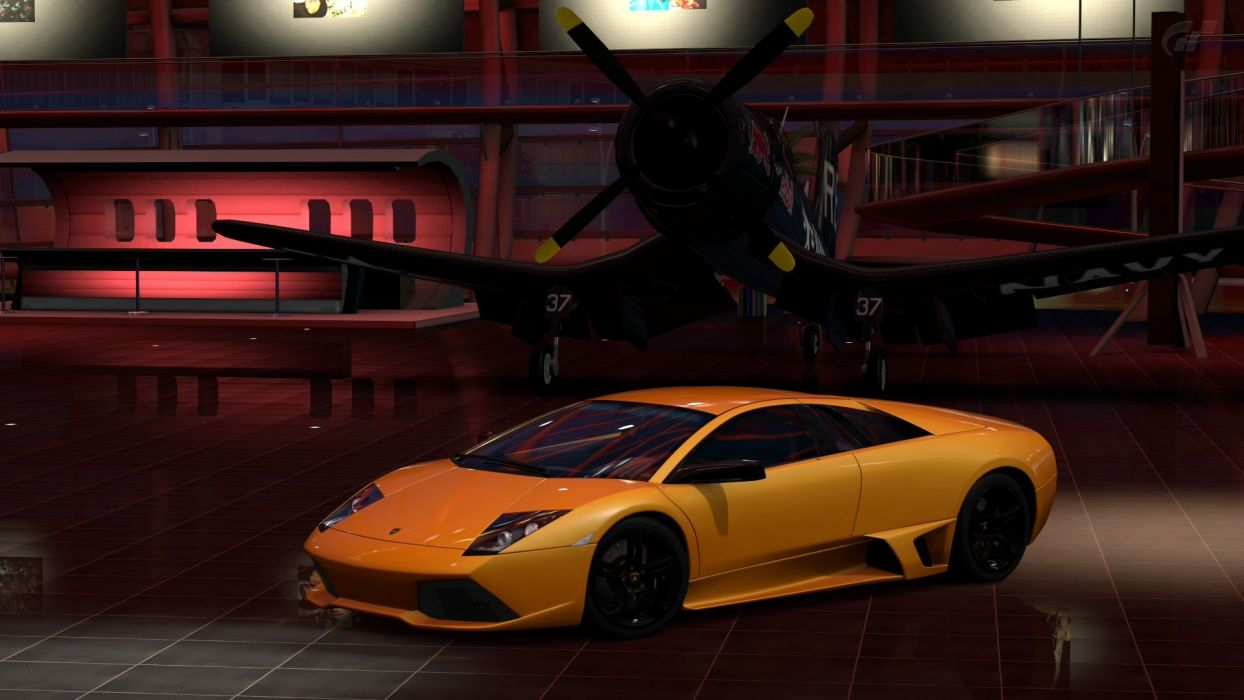 Video Games Cars Gran Turismo 5 Playstation 3 Lamborghini Murcielago