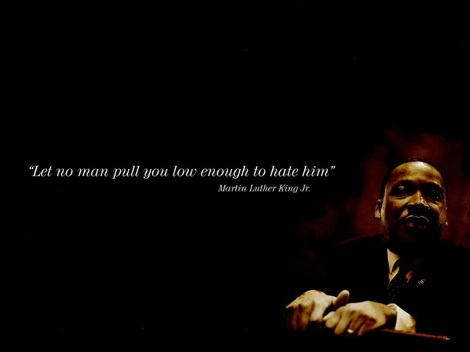 MARTIN LUTHER KING JR Negro African American Civil Rights Political Poster 8 Wallpaper