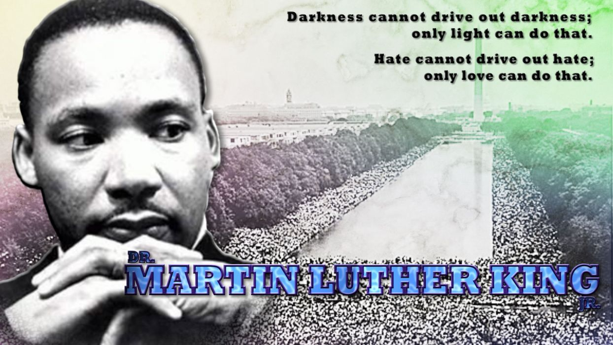 MARTIN LUTHER KING JR negro african american civil rights political poster (13) wallpaper