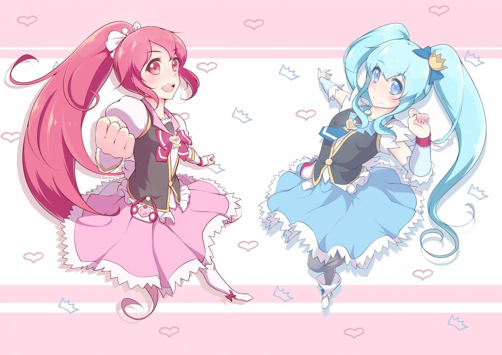 HappinessCharge Precure! smile      f wallpaper