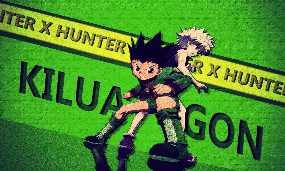 hunter x hunter gon freeces hunter x hunter killua zaoldyeck wallpaper