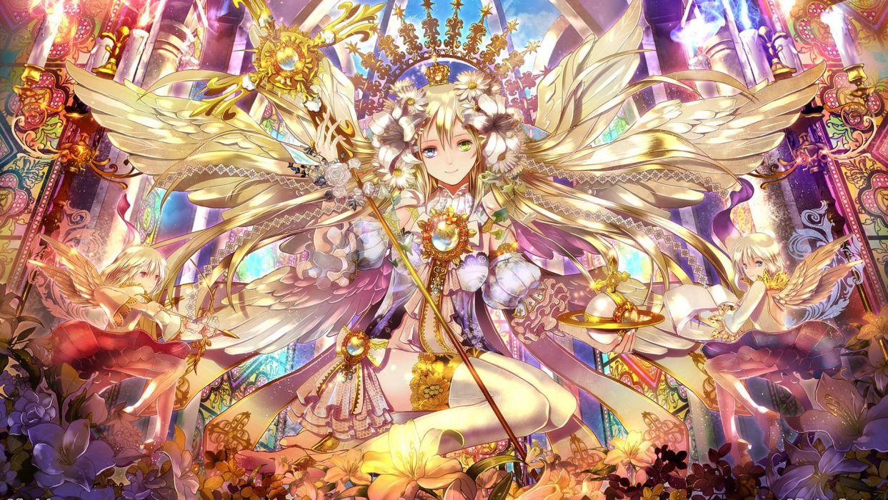 Original angel     fg wallpaper
