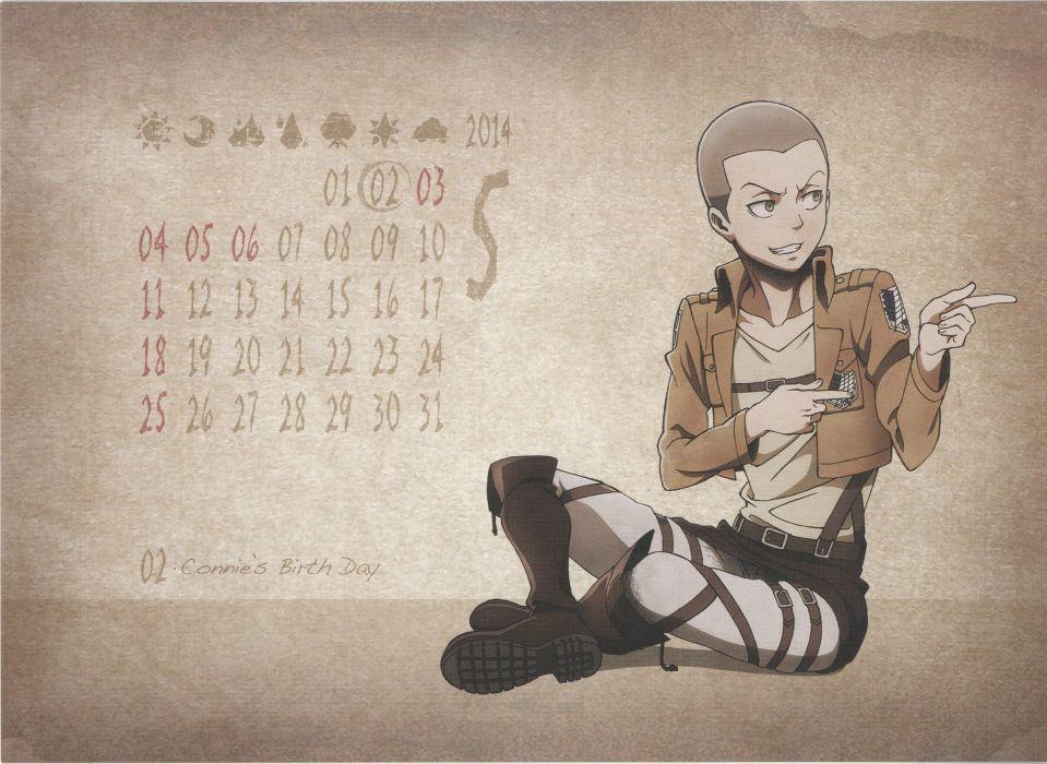 Shingeki no Kyojin Conny Springer wallpaper